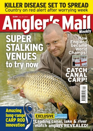 Be sure to get this week's Angler's Mail - and get it every week. You'll save