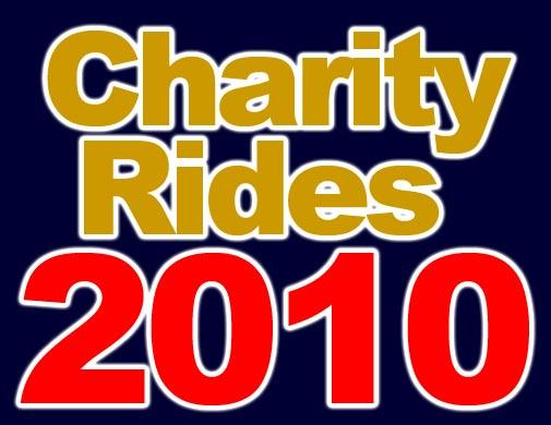 Charity Rides 2010 calendar logo