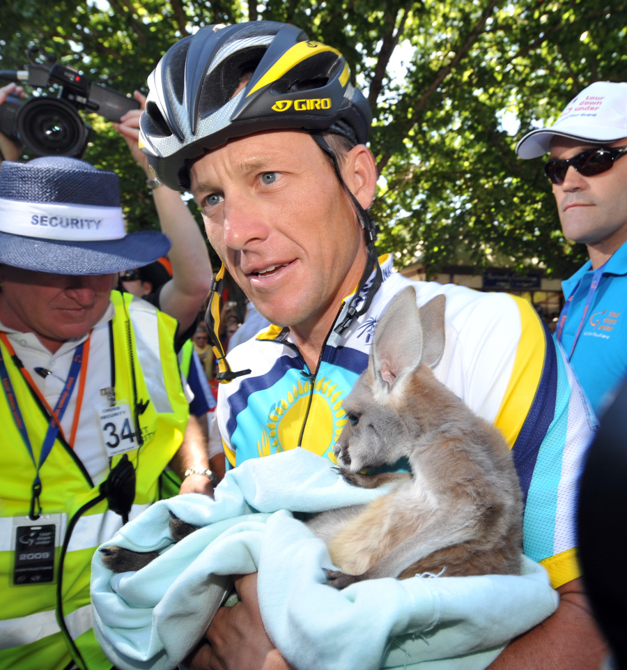 Lance Armstrong Tour Down Under stage 2 2009