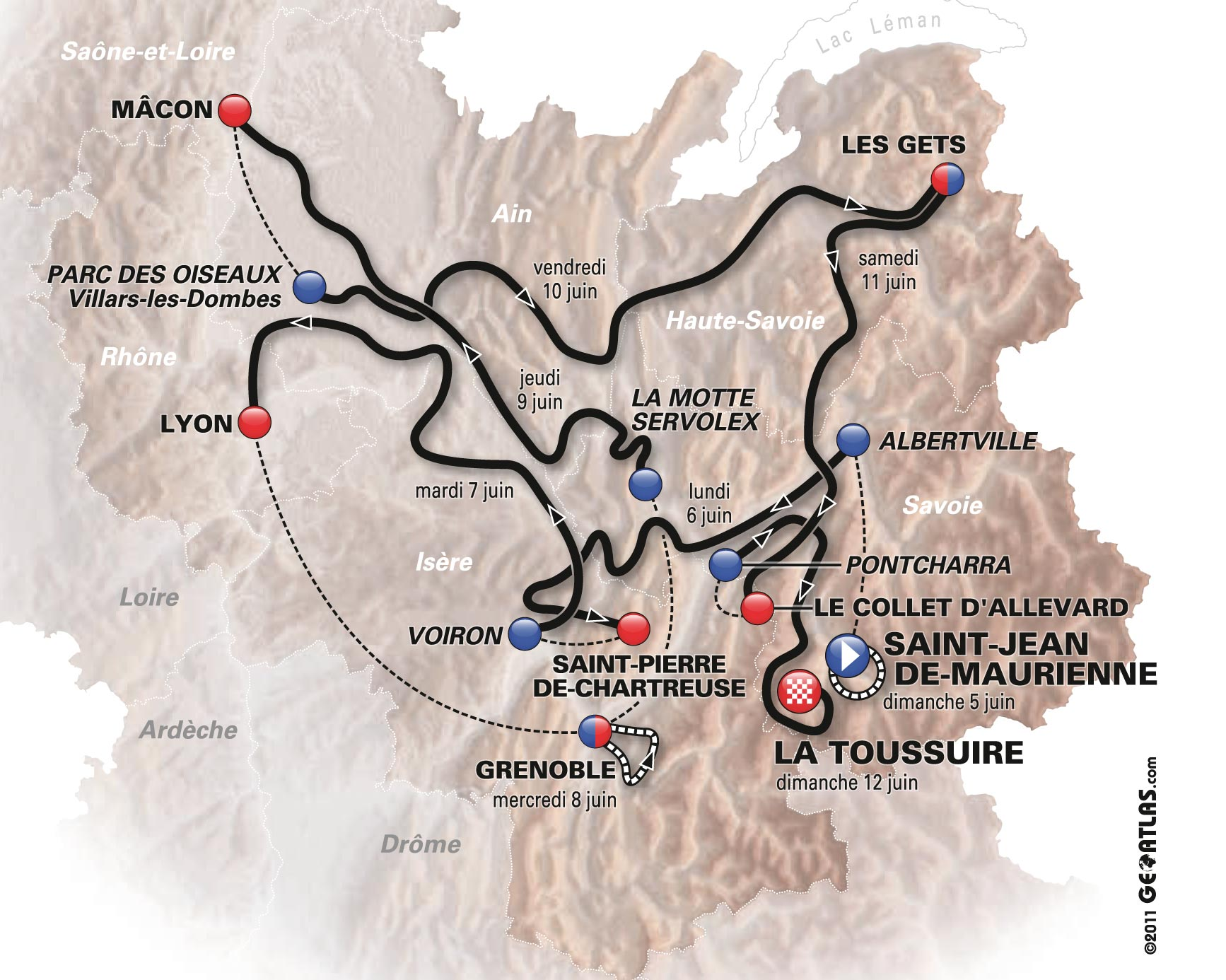 criterium du dauphine 2011 the big preview cycling weekly