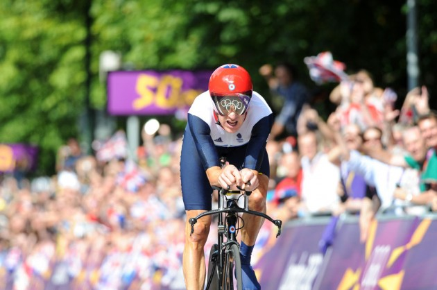 Bradley Wiggins, London 2012 Olympic Games, time trials