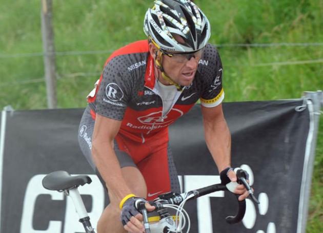 Lance Armstrong, Tour de Suisse 2010, stage 8
