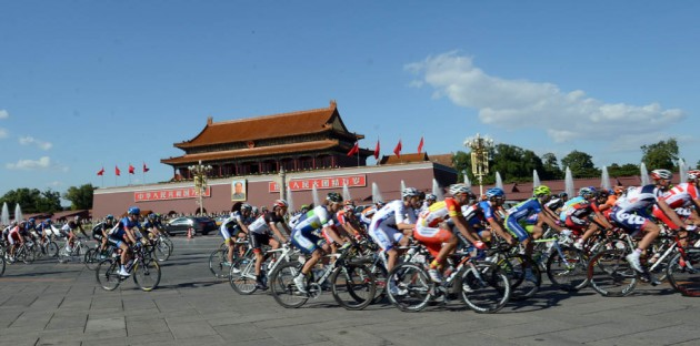 Photo: The tour is the final event on the UCI WorldTour calendar and will run from the 10-14 of October starting in Chongli and finishing at Bird's Nest Stadium. .