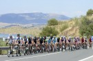The peloton on stage six of the 2013 Tour of Spain