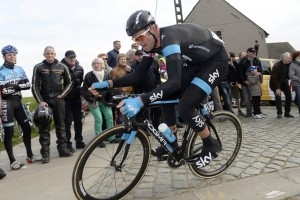 Ian Stannard in the 2014 Dwars door Vlaanderen