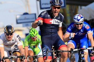 Matteo Pelucchi wins stage two of 2014 Tirreno-Adriatico