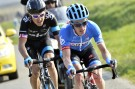 Tom Jelte-Slagter escapes with Geraint Thomas on stage four of the 2014 Paris-Nice