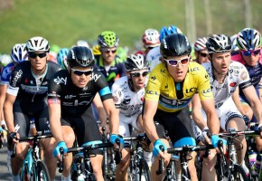 Geraint Thomas on stage five of the 2014 Paris-Nice