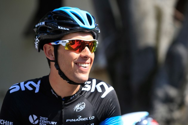 richie porte facing first day as team sky 39 s tour de france
