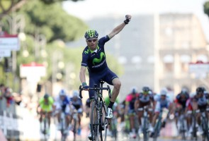 Alejandro Valverde wins the 2014 Roma Maxima