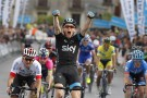 Ben Swift wins stage fiveof the 2014 Tour of the Basque Country