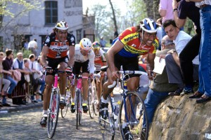 EDDY PLANCKAERT IN THE TOUR OF FLANDERS