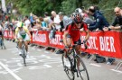 Philippe Gilbert attacks, Amstel Gold Race 2014