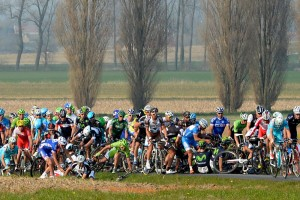 Crash during 2014 E3 Harelbeke