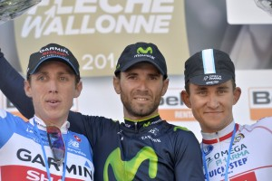 Fleche Wallonne podium 2014