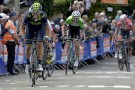 Alejandro Valverde attacks in the 2014 Fleche Wallonne