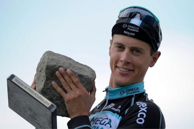 Photo: Niki Terpstra wins 2014 Paris-Roubaix Credit: Watson .