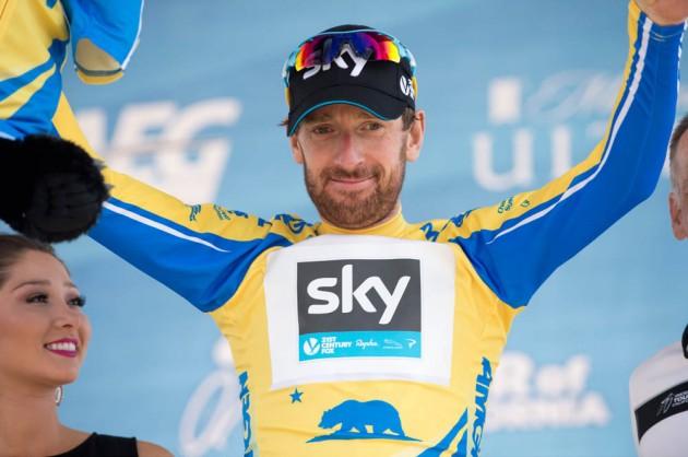 Photo: Bradley Wiggins, Stage 6 of the 2014 Amgen Tour of California, Santa Clarita to Mountain High .