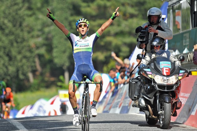Photo: Adam Yates wins Stage 6 of the 2014 Tour of Turkey .