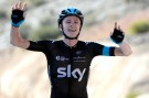 Chris Froome wins stage five of the 2014 Tour of Oman