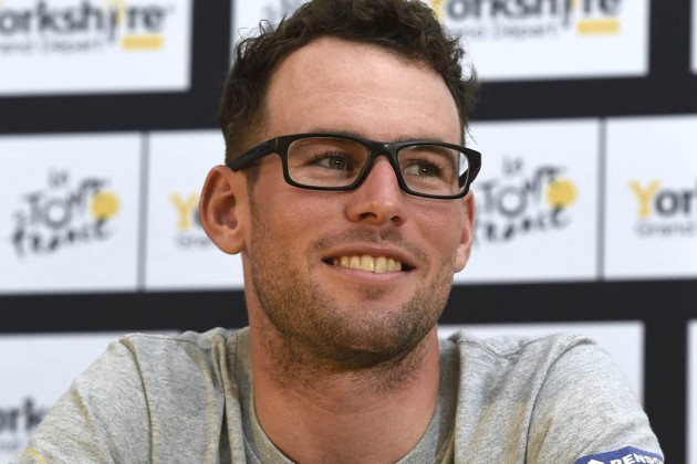 Photo: Mark Cavendish poses before the 2014 Tour de France ...