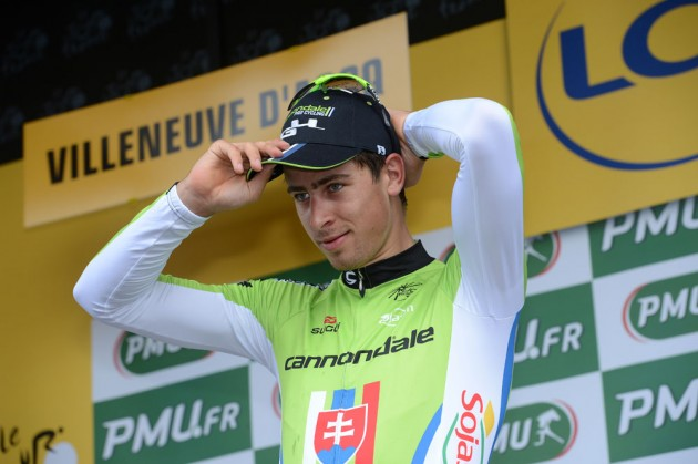Photo: Peter Sagan has been winless since taking the Tour de France green jersey in July.