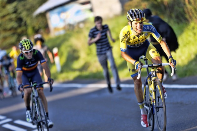 Photo: Rafal Majka attacks to win stage six of the 2014 Tour of Poland . � (cyclingweekly.co.uk)