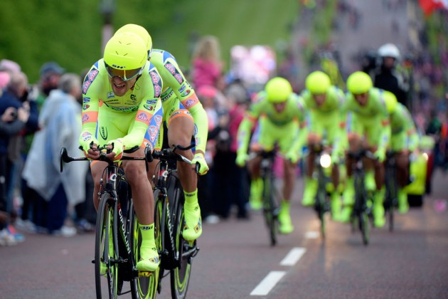 Photo: Neri Sottoli during the opening stage of the 2014 Giro d'Italia Credit: Graham Watson .