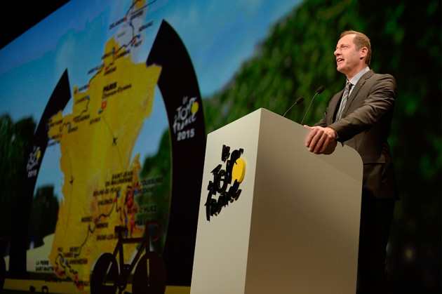 he 2015 Tour de France route will feature four consecutive days in the Alps. Photo: (cyclingweekly.co.uk).