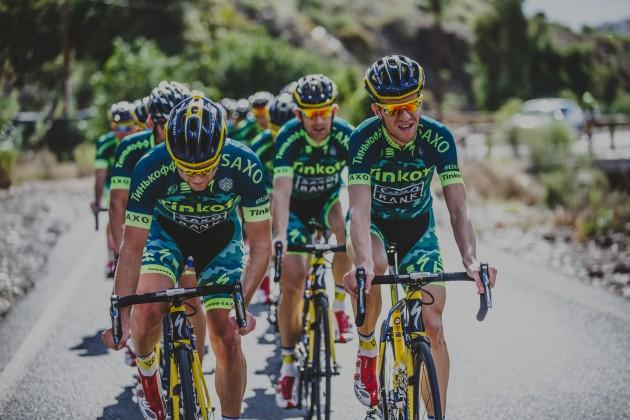 Tinkoff-Saxo Camp - Dec 2014 Gran Canaria