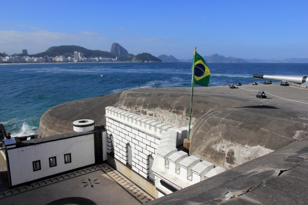 Photo: Copacabana Fort.