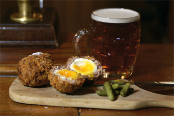 The Harwood Arms venison scotch egg
