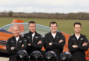 The Blades Aerobatic airline
