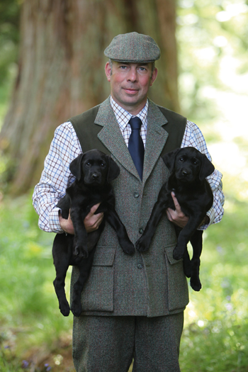 David Lisset manages the Duke of Buccleuch's famous kennels near Thornhill Dumfriesshire