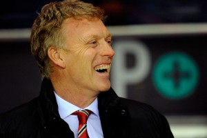 David Moyes laughing