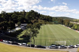 An overview of the Atletico Mineiro Training Center where the Argentine national soccer team will be based at during the 2014 World Cup in Vespasiano