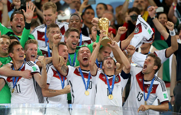 Germany lift the World Cup
