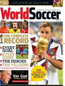 World Soccer July 2014