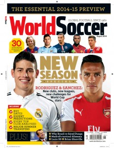 August 2014 World Soccer