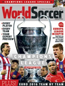 World Soccer September 2014 issue