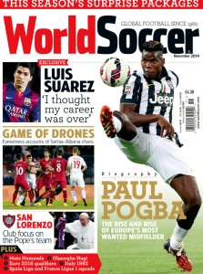 World Soccer November 2014 issue