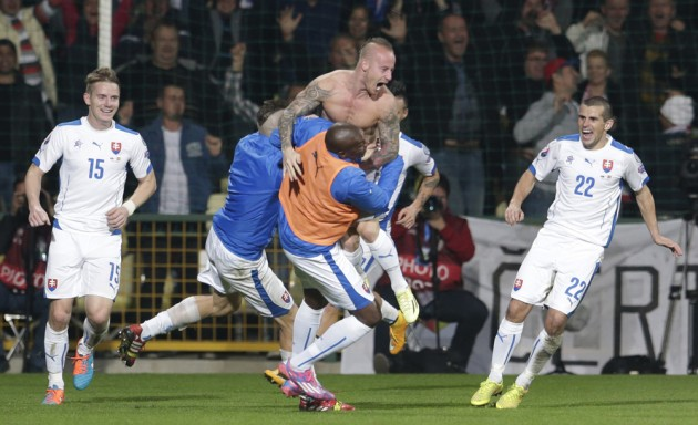 Slovakia Spain Euro Soccer