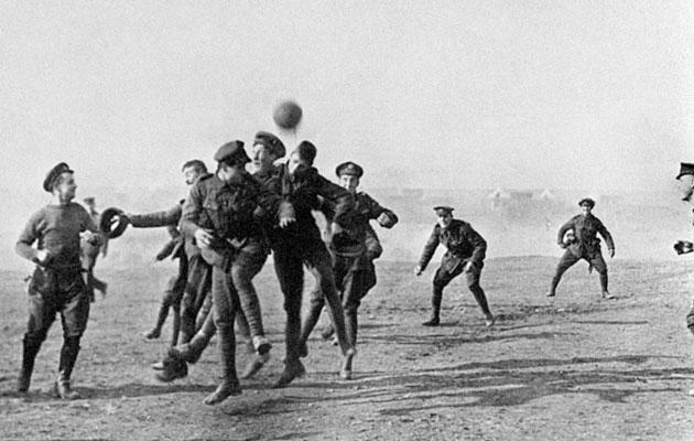 World War 1 football