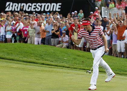 Keegan Bradley wins WGC-Bridgestone Invitational (Getty Images)
