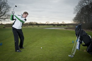 Golf tips: club up to gain control