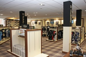 The new golf shop at The Belfry
