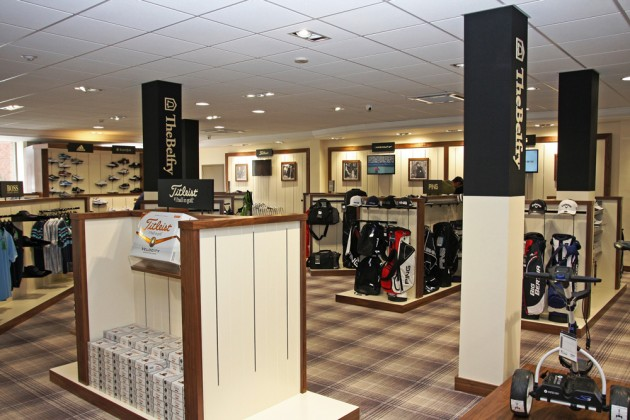 the belfry unveils new golf shop for 2014 golf monthly. Black Bedroom Furniture Sets. Home Design Ideas