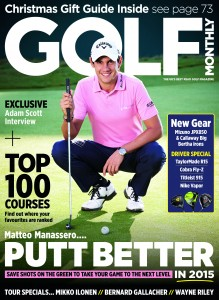 Golf Monthly Januaruy 2015