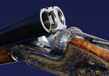 Holland and Holland Royal shotgun.