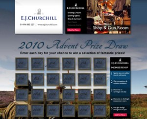 e.j churchill advent calendar